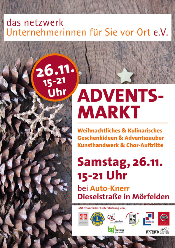 Adventsmarkt in Mörfelden